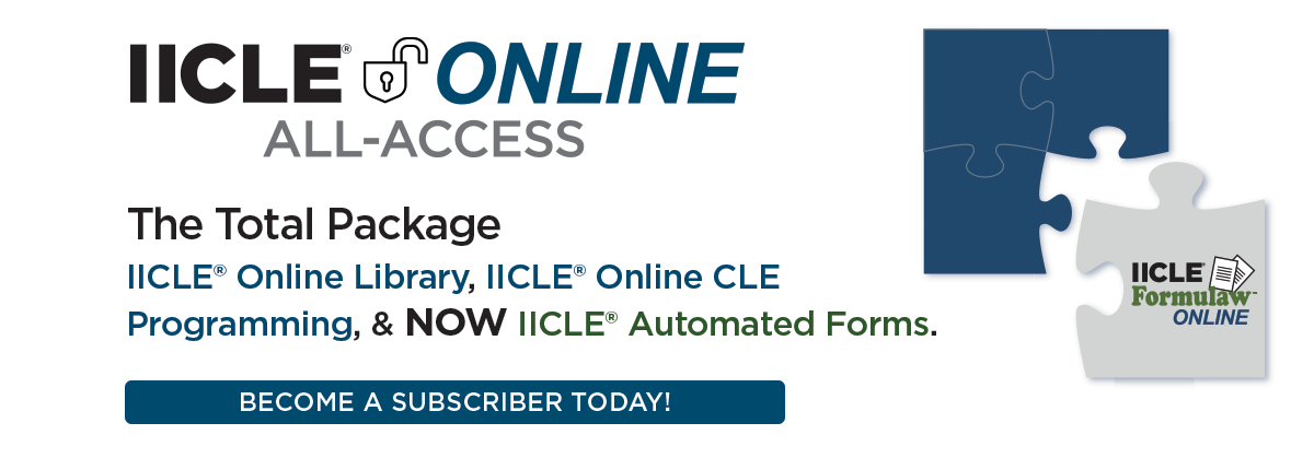 IICLE Online All-Access