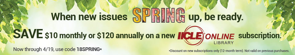 IICLE Online Spring Promo