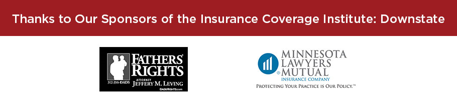 Insurance Coverage Institute Downstate Sponsors
