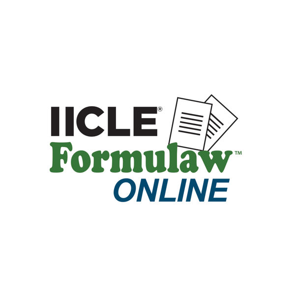 Picture of IICLE Formulaw Online