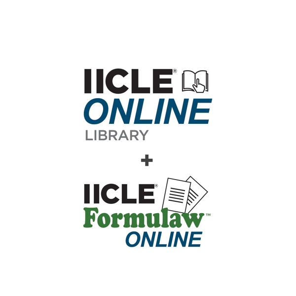 Picture of IICLE Online Library plus Formulaw Online