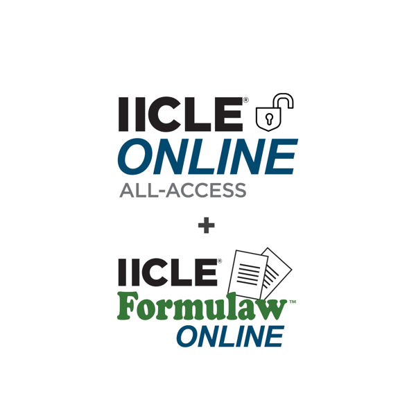 Picture of IICLE Online All-Access plus Formulaw Online